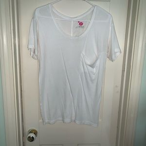 Max Azria Miley Cyrus Boyfriend Pocket Shirt